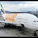 A380-861 | Emirates | EXPO 2020 Opportunity Orange | A6-EOV | HKG