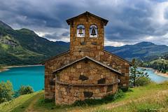 Jean Baptiste et Augustine.... (Savoie 08/2019) (gerardcarron) Tags: beaufortin canon80d chapelle ciel cloud eau hdr lacroseland landscape nuages savoie