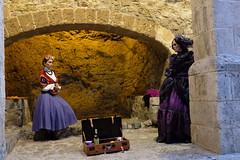 Dalt Vila Ibiza (LorenzoGiunchi) Tags: buildings night people street ibiza