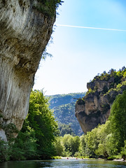 Gorges du Tarn (penelope64) Tags: lozère olympusem1 france cévennes gorgesdutarn rivière paysage nature falaise