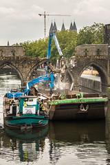 L'heure ou tous Bascule (musette thierry) Tags: lescaut travaux pontdestrous pont hainaut belgique wallonie musette thierry d800 nikon nikkor
