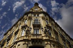 UN EDIFICIO DE CASTELLON (a-r-g-u-s) Tags: arquitectura edicificios castellon balcones ventanas building