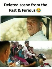 Deleted Scene From The Fast & Furious (gagbee18) Tags: aww fastampfurious funny haha movies wtf