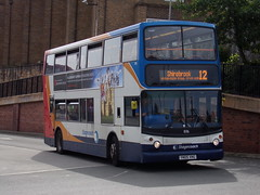 Stagecoach ADL Trident (ADL ALX400) 18316 YN05 XNG (Alex S. Transport Photography) Tags: bus outdoor road vehicle stagecoach stagecoacheastmidlands dennistrident trident alx400 alexanderalx400 adltrident adlalx400 route12 18316 yn05xng