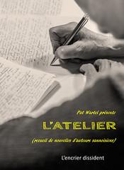 L'atelier d'écriture (Writing workshop) (ericbeaume) Tags: nikon d5500 monochrome sepia main hand pen paper writing writer words cover