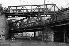 Bridges (Klaus Greipel ■ photography) Tags: brücken bridges eisenbahnbrücke railwaybridge schwarzweiss blackandwhite sw bw dortmund ruhrgebiet ruhrpott ruhrarea deutschland germany klausgreipel kgreipel