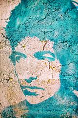 Tangled Up in Utah (Thomas Hawk) Tags: america bobdylan goshen haroldmill tinticmill tinticstandardreductionmill usa unitedstates unitedstatesofamerica utah warmspringsmountain abandoned graffiti mill stencil fav10 fav25 fav50