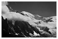 """""""Aiguille, Glacier & Toi De Mon Europe"""" (TBWLC Photography) Tags: fdrouet nb bw monochrome monochrom montblanc montagne mountain paysage landscape nikon d610"""