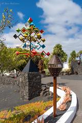 DSC_2342F (Javier_1972) Tags: lanzarote canarias isla manrique cesar cesarmanrique funadacion fundacióncesarmanrique viento escultura verano cielo nubes españa europa