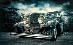 jolly deuce (Simon[L]) Tags: hotrod ford hss vintage roadster 1932 jollyrodders uk v8 chrome bra 241uxs