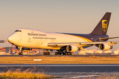 N580UP UPS Airlines Boeing 747-428F 34L Sydney Airport SYD/YSSY 20/7?2019 (TonyJ86) Tags: n580up ups 5xups unitedparcelservice upsairlines boeing 747 b744 b744f b747 747400 747400f 747428 747428f jumbo jumbojet widebody quadjet aircraft aviation airliner airplane aeroplane plane cargo freight freighter jet jetliner jetaircraft jetplane international departure takeoff rotate flight fly airport syd yssy sydneyairport sydneykingsfordsmith sydney nsw newsouthwales australia planespotting avporn aviationporn avgeek travel nikon d750 nikond750 vehicle outdoor aviationphotography tamronsp150600mmf563divcusdg2 tamron airtravel goldenhour sunset sun sunny sunlight