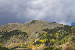Dreaming of Mountains (Bernie Emmons) Tags: mountain sanjuannationalforest clouds trees