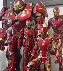 Iron Man (becauseBATMAN) Tags: ironman iron man tony stark avengers marvel figure 16 1 6 one sixth collectible mark mk v 5 45 50 l infinity war age ultron aou nano armor suit marks collection 43 hulk buster hulkbuster 44
