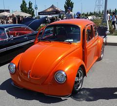 1973 Volswagen beetle custom (D70) Tags: tsawwassenmills classiccarshow rumbleroarclassiccarshow tsawwassen delta britishcolumbia canada 1973 volswagen beetle custom vw