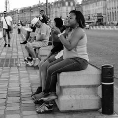 DSCF2743 (LexomIA) Tags: bordeaux street urbain bw nb streetphotography