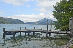 Lac Annecy (philept1) Tags: water outdoors alps annecy france lake lac countryside view mountains jetty
