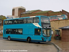 When I was brand new (Cymru Coastliner) Tags: arrivabuseswales vdldb300 gemini2dl wright 4482 cx61cdf bus rhyl northwales