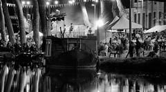 Sallèles d'Aude (mcbail) Tags: sallèles festival aude canal bw concert monochrome