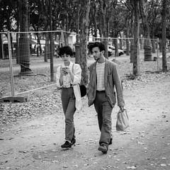 DSCF2742 (LexomIA) Tags: bordeaux street urbain bw nb streetphotography
