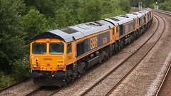 '0G50' Bescot to Doncaster GBRf 'convoy' (DC-7C) Tags: 968702141 66141 66786 20128816018 66769 200385131 bristolpanelsignalbox 66750 20068902001 institutionofrailwayoperators 66728 66058 derekclark 96870258 nottingham nottinghamshire sandiacre sidings stantongate waste biffa theflyingdustman 66783 coco jt42cwr 667 66 class emd generalmotors gbrf porterbrook freight goods engine train locomotive loco diesel