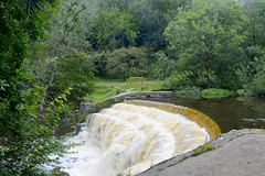 Monsal Dale Weir (philept1) Tags: water weir river outdoors peakdistrict derbyshire dale countryside view wye monsal