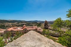 MORELLA (juan carlos luna monfort) Tags: castillo castellon castello iglesia campanario campana focusstacking vistas cieloazul arbol nikond810 irix15 calma paz tranquilidad