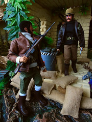 Lets move (Blondeactionman) Tags: action man bamhq diorama doll photography dinosaur valley playscale one six scale chas anderson teegan wilberforce customs