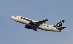 Classic (Treflyn) Tags: tarom boeing 737 733 737300 yrbga take off vienna schwechat international airport flight bucharest otp vie classic
