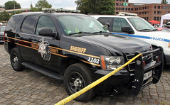 Police Tahoe (Schwanzus_Longus) Tags: street mag show hannover german germany us usa america american modern car vehicle suv police law enforcement oakland county sheriff chevy chevrolet tahoe