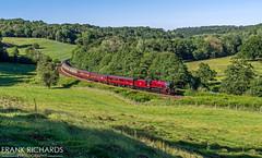 45699 | Kirkham Abbey | 27th June '19 (Frank Richards Photography) Tags: kirkham abbey 1z27 scarborough carnforth with 45699 galatea thursday 27th june 2019 jubilee red train wcrc west coast railways company nikon d7100 steam railtour railway yorkshire north stanier