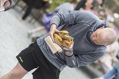 The Food Inspector (Frank Fullard) Tags: frankfullard fullard candid street portrait food burgerinspect lol fun color colour claregalway galway irish ireland festival fair takeaway