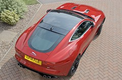 Jaguar F Type R V8 Coupe (John McCulloch Fast Cars) Tags: jaguar f type r v8 coupe red lf14fle marlow