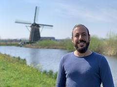 Kinderdijk, Netherlands, April 2019