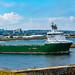 Havila Commander Departing Aberdeen Harbour 03/08/2019.