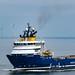 Stril Odin Arriving Aberdeen Harbour 03/08/2019