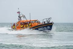 Selsey Lifeboat Day (Julian Heritage) Tags: selsey lifeboat lifeboatday rnli coast sea savinglives coastal nautical boat deni deniseanderic 1320 shannonclass crew lifesavers rnlb allweather