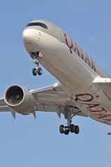QR0001 DOH-LHR (A380spotter) Tags: approach arrival landing finals shortfinals threshold belly beacon airbus a350 a350xwb™ xtrawidebody extra 900 a7amh qatar القطرية qatarairways qtr qr qr0001 dohlhr runway27r 27r london heathrow egll lhr