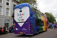 Bus Eireann VWD43 (151C7164). (Fred Dean Jnr) Tags: cork pride august2019 lgbt southmallcork buseireann volvo b5tl wright eclipse gemini3 vwd43 151c7164 alloverad wrap