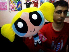 Powerpuff Girls - Bubbles Big Plush / Peluche Grande de Burbuja (Supernenas) (Juliominako) Tags: magical girl mahou shoujo transform henshin attack new full episode movie special ova manga anime amv chapter opening ending demashita powerpuff momoko hyper rolling bubbles miyako kaoru buttercup powered utonium ken peach bellum mojo him fuzzy lumpkins himeko princess morbucks amoeba sedusa rowdyruff boys brick boomer butch pretty cure sailor moon crystal card sakura clear wedding mermaid melody miracle tunes group twinkle star tokyo mew doremi ladybug winx petalo bombón burbuja cactus bellota