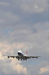 BA0274 LAS-LHR (A380spotter) Tags: approach arrival landing finals shortfinals boeing 747 400 gcivb negus19741980 negusnegus britishairways10019192019 centenary retrocolours livery scheme retrojet 2019 ba100 baretrojet internationalconsolidatedairlinesgroupsa iag britishairways baw ba ba0274 laslhr runway27r 27r london heathrow egll