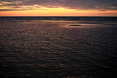 Jurmala sunset (©Andrey) Tags: pentax smc 3570mm jurmala sunset outdoor seaside colour gold hour summer water baltic gulf evening юрмала закат вечер море залив латвия лето облака август clouds