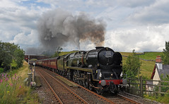 Cumbrian Mountain Express (garstangpost.t21) Tags: cme 35018 bil britishindialines steamloco steamlocomotive kirkbystephen