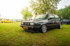 Jetta Coupé (Mitchell Hermanides) Tags: vw volkswagen jetta mk2 coupe classic oldschool abf gti 16v bbs rs rm bb5 custom fast mivw static stance fitment airride airlift rotiform hotwheels hot canon eos 77d 10mm event treffen