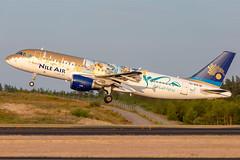 SU-BQM Airbus A320-214 Nile Air (Andreas Eriksson - VstPic) Tags: subqm airbus a320214 nile air