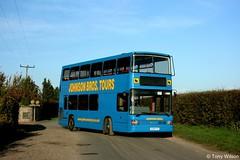 K304FYG Johnson Bros (theroumynante) Tags: bus london buses derbyshire central johnson spectra bros daf doubledeck optare db250 singledoor hodthorpe stepentrance k304fyg road transport