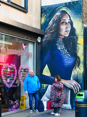 Hummingbird - Feb 2019 (stevedexteruk) Tags: wardour street london soho dreph art mural 2019 hummingbird bakery
