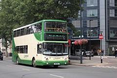 AV18 (peagreenbus) Tags: x18sea 00d40018 volvob7tl seafordanddistrict alexanderalx400