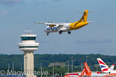 G-LERE GCI-LGW (MagyarSteve) Tags: aviation aeroplane london plane aircraft landing airline airliner gatwick aurigny