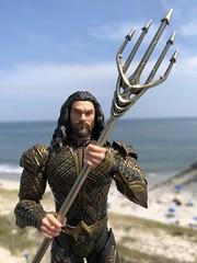 Aquaman at the Atlantic, Again (misterperturbed) Tags: atlanticocean aquaman dceu arthurcurry jasonmamoa beach one12collective mezco mezcoone12collective dccomics justiceleague atlanticcity newjersey