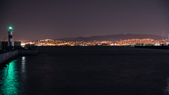Piraeus - alimos view (athanecon) Tags: summernight summer night greece attica urbansunset urban citylights citysky city sea clouds sky light nature colors colours sunset thebluehour bluehour dusk port harbour pireas piraeus kastella kastela castella castela tamron2470g2 tamron nikon nikond750 faliron faliro neofaliro alimos lighthouse marina alimosmarina marinaofalimos fishing fisherman lights greenlight